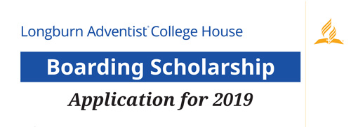 2019 LAC House Boarding Scholarship Application