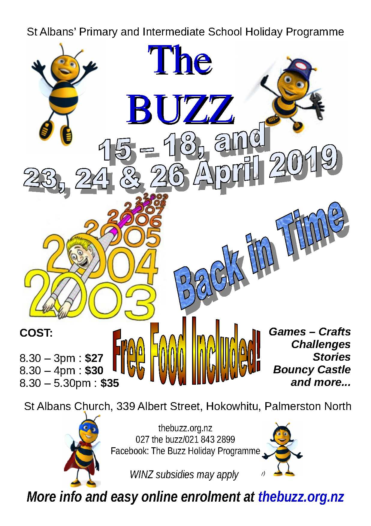 The Buzz Holiday Programme